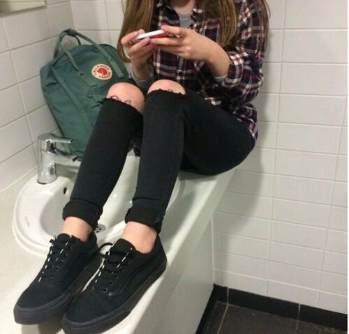 grunge, weheartit, outfit, tumblr, girl