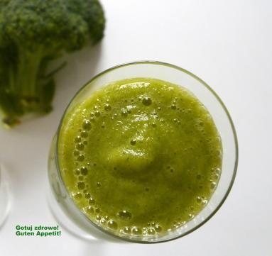 Zdjęcie: Odchudzajacy zielony koktajl - brokuł & mango