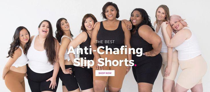 Thigh Society I The Best Anti-chafing Slip Shorts