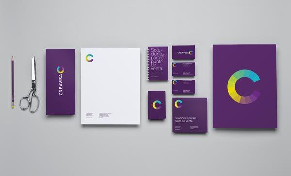 Branding Design for Creavisa by Anagrama: Business Card, Graphic Design, Branding Design, Logo, Creavisa, Inspiration, Identity Design