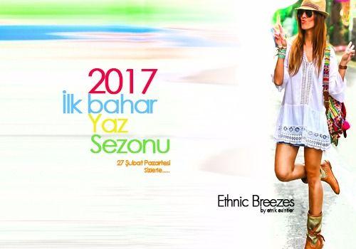 Etnik Esintiler 2017 Yaz Sezonu 27 Şubat Sizlerle http://www.etnikesintiler.com/ #2017 Bayan Giyim #Etnik Esintiler #Yaz Sezonu Tel: 0212 555 42 97 Whatsap: 05423426141