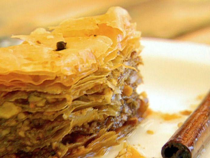 Baklava recipe from Food Network Specials via Food Network