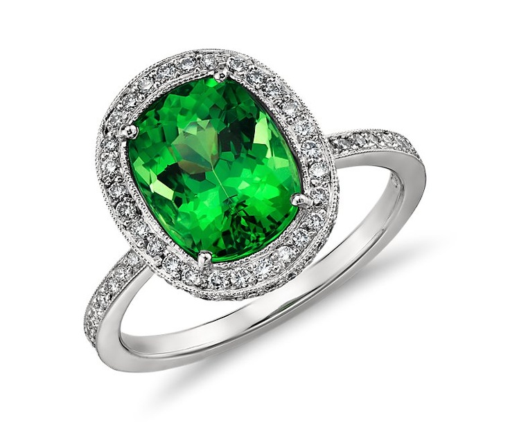 Diamond Ring With Platinum