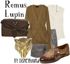 i dont know who Remus Lupin is but for those of you who do i thought you might enjoy this look