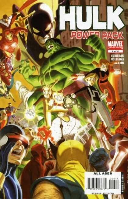 Hulk Power Pack 44 - Marvel - Iron Man - X-men - Spiderman