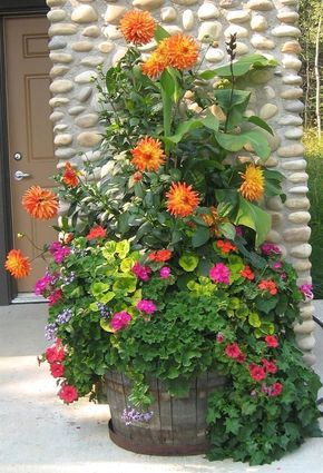 Best Container Gardening Design Flowers Ideas 25 Beautiful