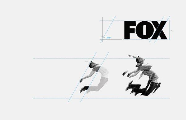 FOX international channels Corporate Identity by DHNN Creative Agency, via Behance