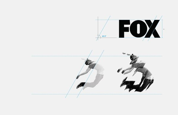 FOX international channels Corporate Identity by DHNN Creative Agency, via Behance