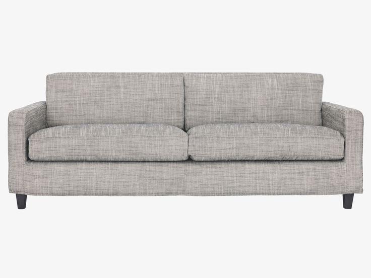 CHESTER GREYS Fabric Black and white viscose mix 3 seat sofa - Fabric Sofas- HabitatUK 1500