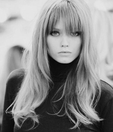 Long Hair Bangs for Oval Face pictures, update your look with Long Hair at Behairstyles.com