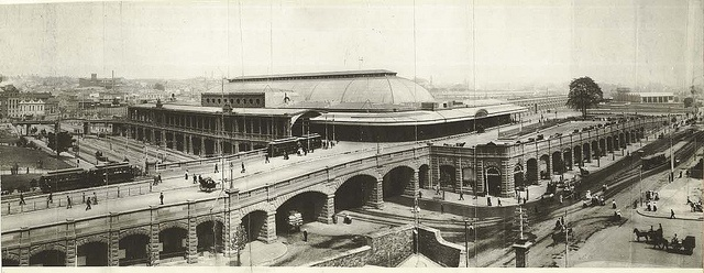 Central Railway Station from George Street, 1906 Sydney by State Records NSW, via Flickr