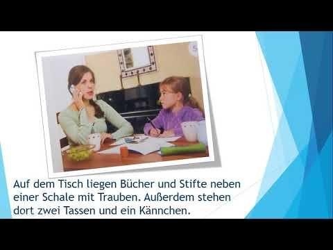 Bildbeschreibung B1-Prüfung (DTZ) -- mündliche Prüfung - YouTube