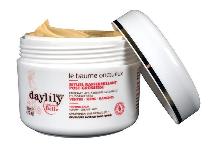Le Baume Onctueux - Rituel Raffermisant post-grossesse - Daylily Paris #douxgood #grossesse #cosmétiques #bio #naturel