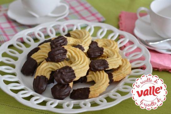 Biscotti al +Burro con cioccolato #buongiorno #colazione