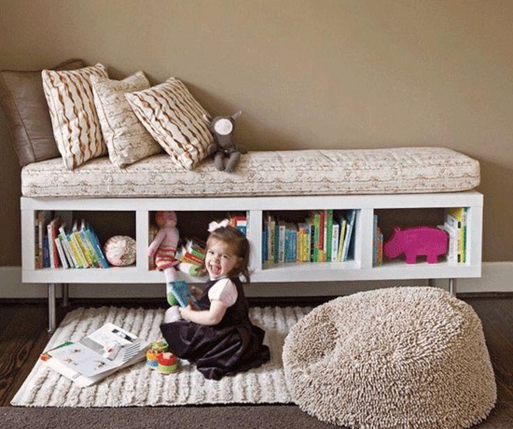Diy Using Ikea Shelf Unit As Storage Bench Better Homes Gardens