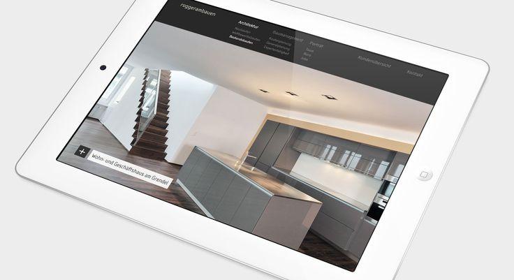Roggerambauen - Webdesign