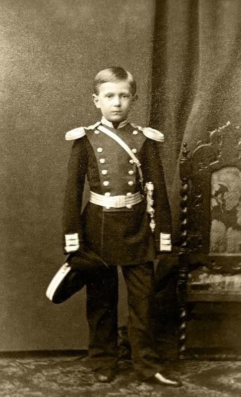 Grand Duke Sergei Alexandrovitch (1857-1905) married to Princess Elizabeth of Hesse, sister of Tsarina Alexandra