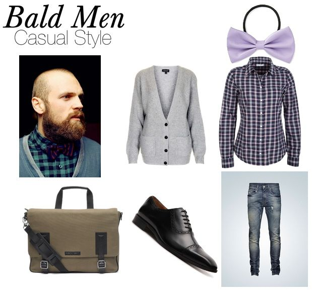 Clothes for bald guys