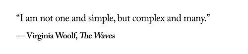 Virginia Woolf, The waves ∞αω∞