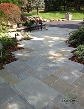 Stone, Stone, And More Stone   Traditional   Landscape   Detroit   By  Proscape