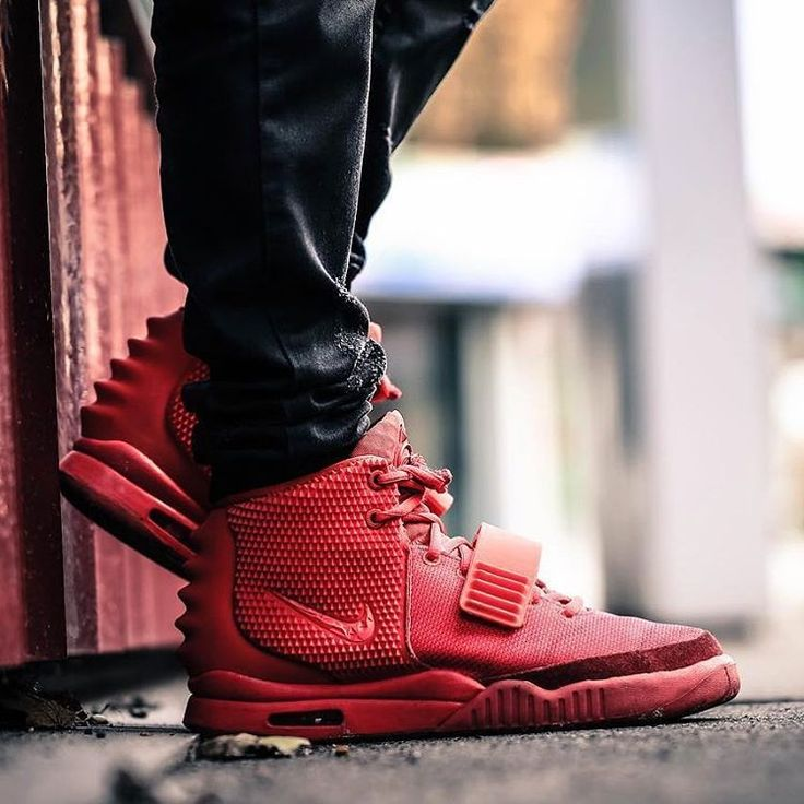 """Nike Air Yeezy 2 SP """"Red October""""."""