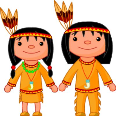 American Indian Cartoon Clip Art | Native American Couple