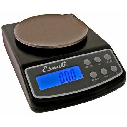 L-Series High Precision Digital Scale (125 Gram / 0.01 Gram Capacity) by Escali. $59.95. The Escali L-Series digital scales are highly accurate, operator friendly digital scales with some of the industry's best features. These scales are a must have tool where high precision weighing is required. Capacity: 125 gr / 4.4 ounceAccurately measures in grams, ounces, grains, carats, pennyweights and troy-ounces in 0.001 ounce or 0.01 gram incrementsTare Feature (lets you reset the sca...