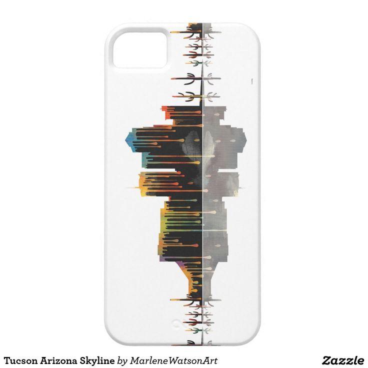 Tucson Arizona Skyline iPhone 5 Cover     In Stock • $47.95