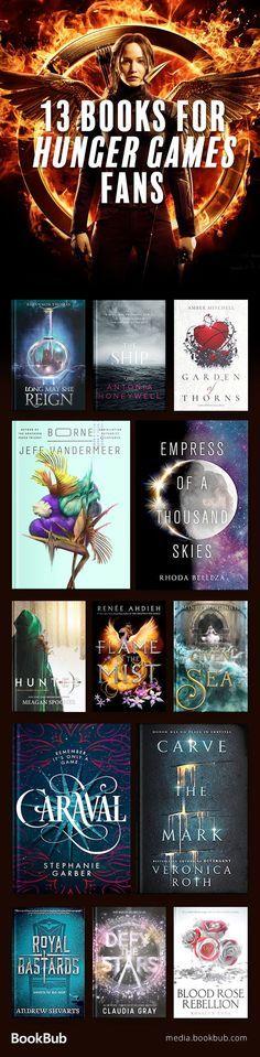 13 books for Hunger Games fans