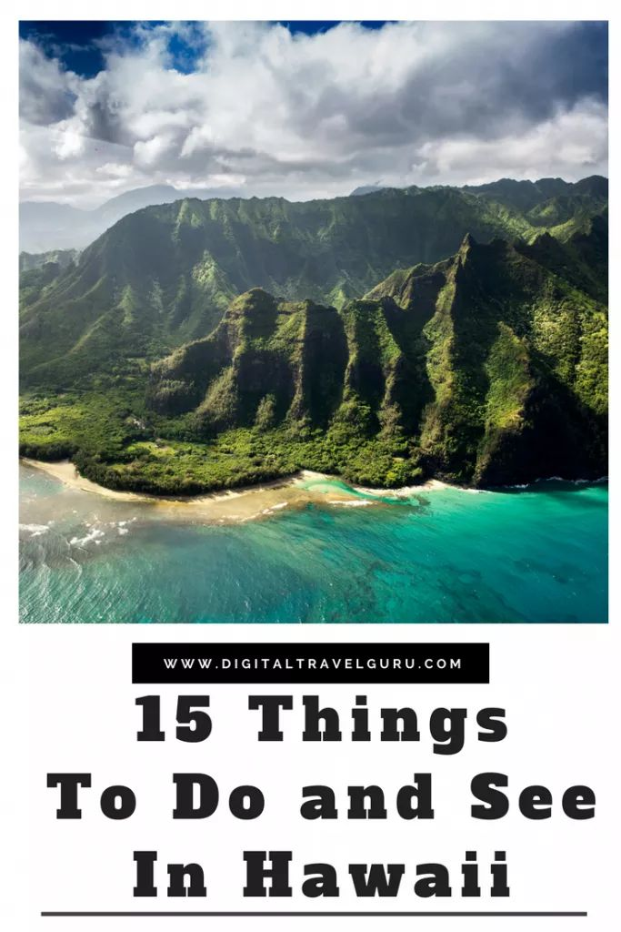 15 Things To Do and See In Hawaii