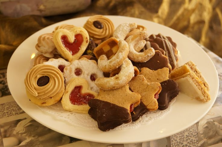 yummy austrian christmas cookies @ stock resort, zillertal, tirol