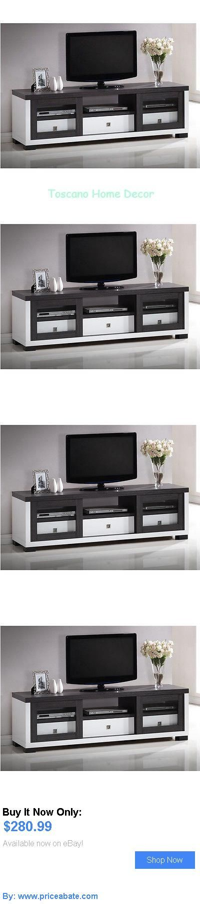 Entertainment Units, TV Stands: Tv Entertainment Center Modern Stand Furniture Storage Cabinet White Console New BUY IT NOW ONLY: $280.99 #priceabateEntertainmentUnitsTVStands OR #priceabate