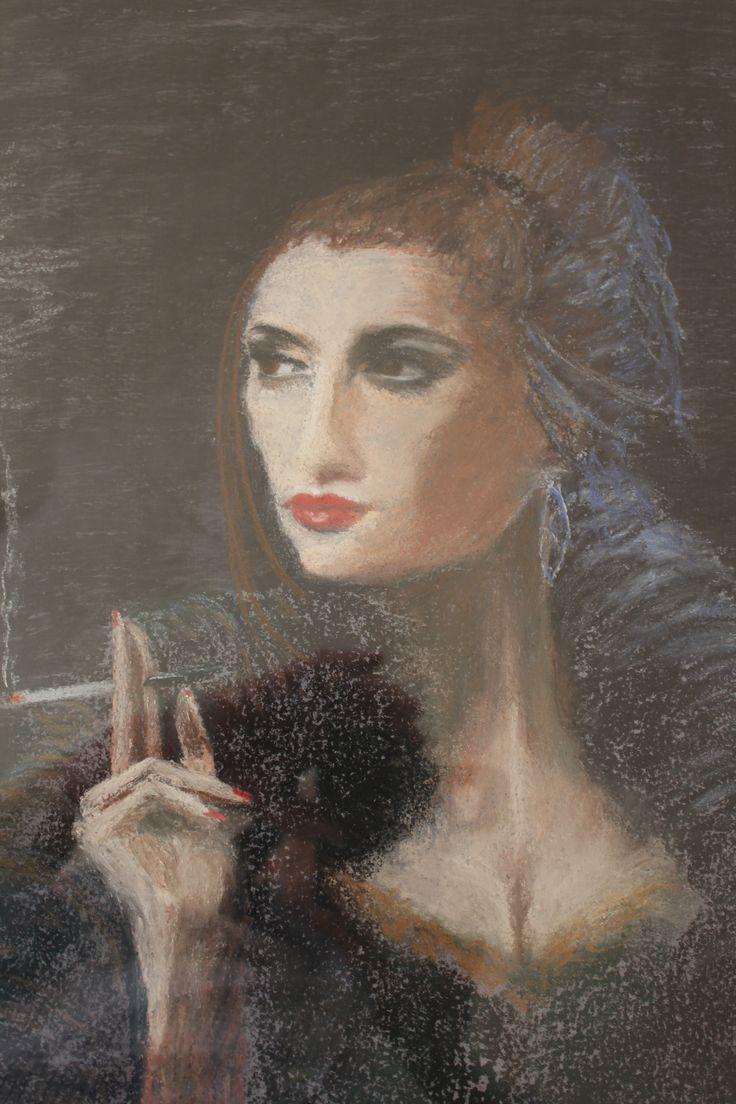 The Smoking Lady by Elizabeth Ashton