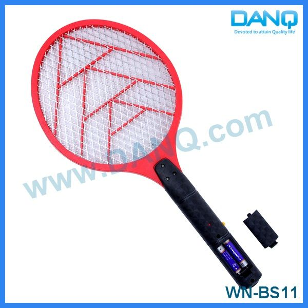 Three layers fly catcher, bug zapper, mosquito swatter, mosquito racket with CE-EMC