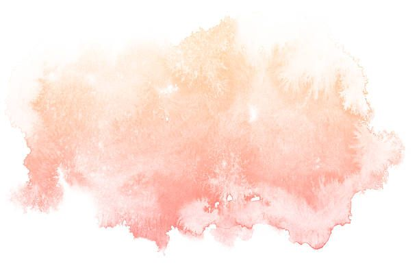 Abstract Cream Watercolor Background Vector Art Illustration