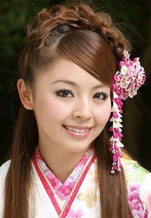 編み込みハーフアップヘアスタイル : 卒業式におすすめ!袴に合う ...