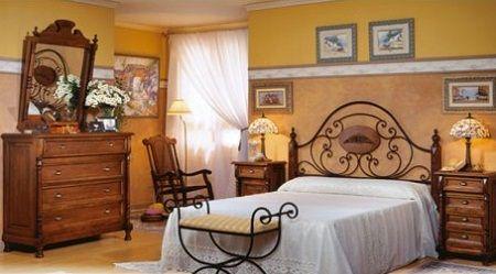 Dormitorios matrimoniales estilo campo buscar con google dormitorios pinterest colores - Decorar habitacion rustica ...