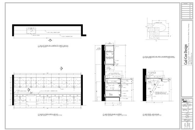 Do you know the difference between casework shop drawings for Architectural design drawing company