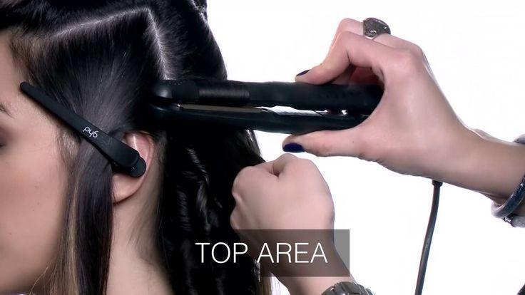 Tutorial GHD - come realizzare onde perfette sui capelli di lunghezza media