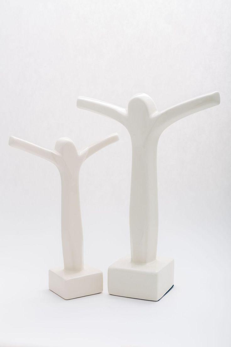 Jesus porcelain statuette.