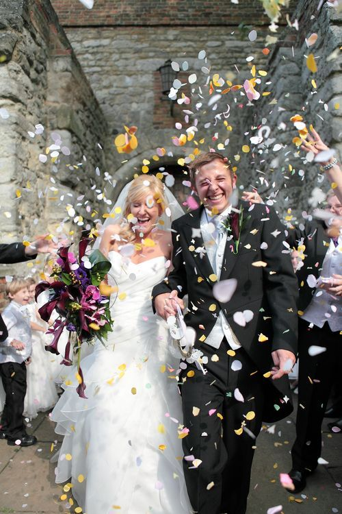 Wedding celebrations photograph at Upnor Castle