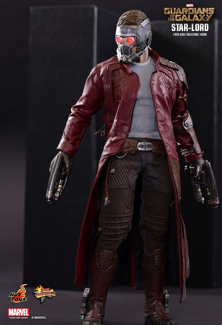 Les Gardiens de la Galaxie figurine Movie Masterpiece 1/6 Star-Lord Hot Toys