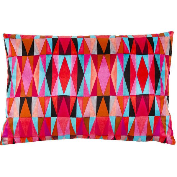 Mariska Meijers Bold Cubism Long Cushion Cover - Picasso Red - 35x50cm ($170) ❤ liked on Polyvore featuring home, home decor, throw pillows, pillows, red, red accent pillows, red toss pillows, geometric throw pillows, red throw pillows et red home accessories