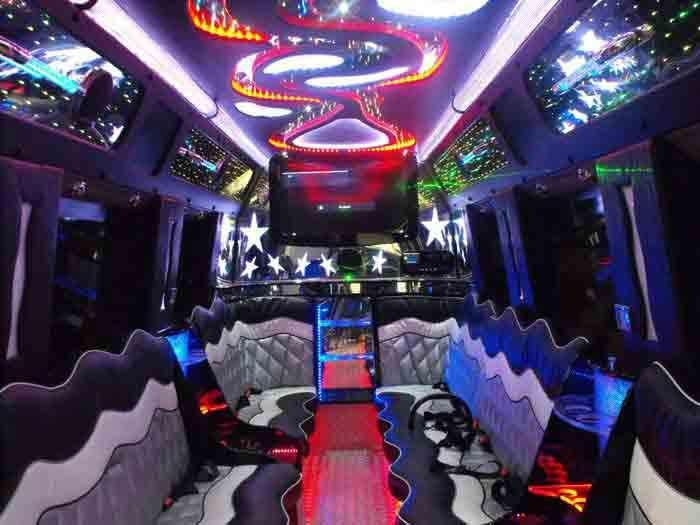 Party Buses are the best way to have fun with friends in OC. These modified vehicles are loaded with frill and features to cater to the tastes of groups belonging to any age group. There are party buses that can accommodate small 5 member gangs as well as large party on wheels buses for 50 member strong groups.