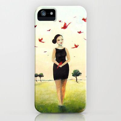 Spring carrier iPhone & iPod Case by Malin Östlund - $35.00