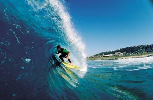 Surfing - Are you ready to hang ten on the West Coast?  A 'hang ten' is a surfing manoeuvre that requires you to ride with all ten toes over the nose (front) of the board. This is a very stylish, but difficult longboard move.