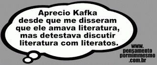 Pensamento por mim mesmo - As Frases de Fabian Balbinot: 20/05/15 - Kafka e a literatura
