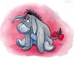 Image result for eeyore watercolour