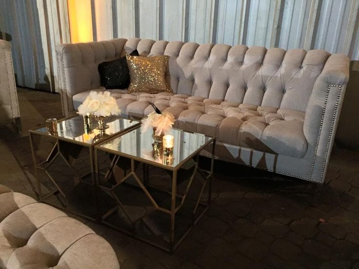 Did we mention that our fabrics come in pillows as well? These glamorous pillows make event lounges so welcoming!