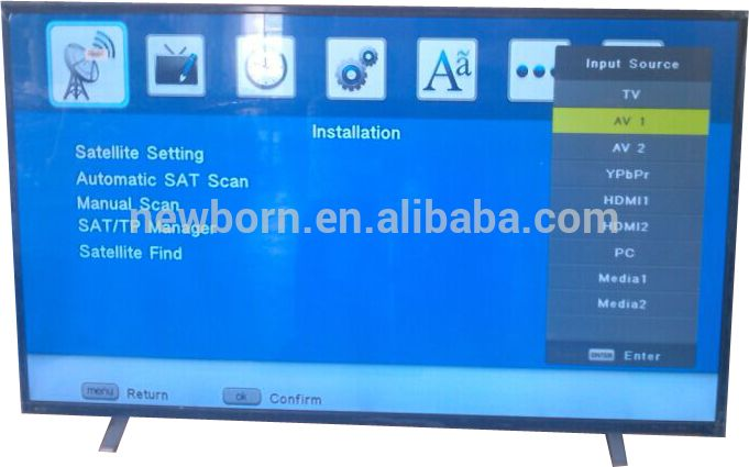 led lcd digital tvs 55 inch flat screen fhd 1080p on sale 2016 promotion special price